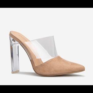 NWT Size 10 ShoeDazzle Slip-on Pointed Toe Heels
